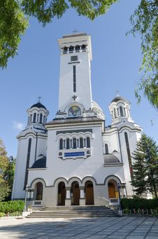Free Romanian Orthodox Cathedral Stock Image - 35947561