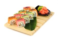 Free Rainbow Sushi Stock Photos - 35947763