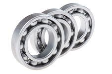 Free Metal Bearing On White Royalty Free Stock Photography - 35948717