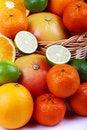 Free Mixed Citrus Royalty Free Stock Image - 35954036