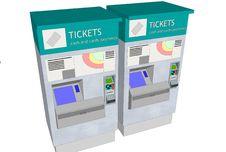 Free Ticket Machines Stock Image - 35952681