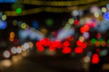 Christmas Bokeh Royalty Free Stock Photography