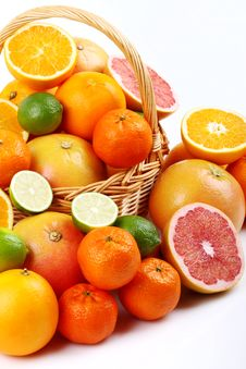 Free Mixed Citrus Stock Photo - 35954130