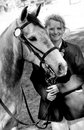 Free Grey Pony And Girl Royalty Free Stock Photo - 35961205
