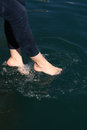 Free Feet In Water Stock Images - 35963334