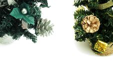Free Fake New Year Trees Royalty Free Stock Images - 35961279