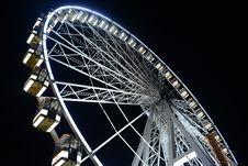Free Wheel At Christmas Fair Stock Photo - 35962900