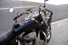 Free Motorcycle On Street Royalty Free Stock Image - 35963316