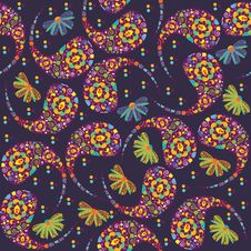 Free Floral Seamless Pattern And Seamless Pattern In Sw Royalty Free Stock Photography - 35967247