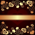 Free Valentine&x27;s Day Background With Hearts Stock Photo - 35971140