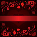 Free Valentine&x27;s Day Background With Hearts Stock Photography - 35971142