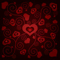 Free Valentine&x27;s Day Background With Hearts Stock Photo - 35971150