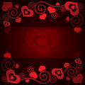 Free Valentine&x27;s Day Background With Hearts Stock Image - 35971171