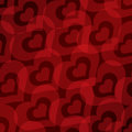 Free Valentine&x27;s Day Background With Hearts Seamless Pattern Stock Images - 35971174