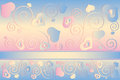 Free Valentine&x27;s Day Background With Hearts Stock Photos - 35971193