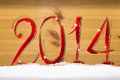 Free New Year 2014. Stock Image - 35971481