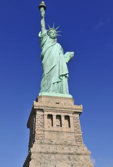Free Liberty Statue, N.Y. Royalty Free Stock Photo - 35970375