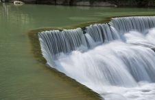 Beautiful Waterfall In Taiwan Stock Images