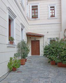 Free House Entrance, Athens Greece Royalty Free Stock Photos - 35974138