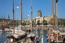 Free Port Vell, Barcelona, Spain Royalty Free Stock Image - 35979786