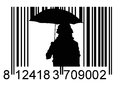 Free Barcode Girl Royalty Free Stock Photography - 35980457