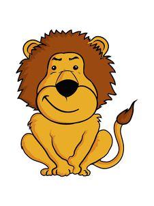 Free Lion Cartoon Stock Photography - 35980252