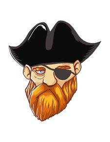 Free Pirate Royalty Free Stock Photos - 35980738