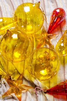 Ornaments For Christmas Stock Images
