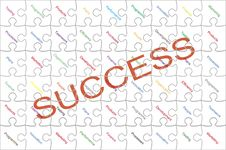 Free Success Puzzles Royalty Free Stock Photos - 35983428