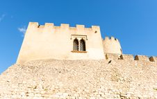Free Castellet Castle Near Foix Dam At Barcelona, Spain Royalty Free Stock Images - 35985589