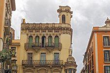 Free Buildings In Barcelona, Spain Stock Image - 35987201