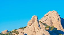 Free Montserrat Mountains Near Barcelona In Catalonia, Spain Stock Photo - 35987930