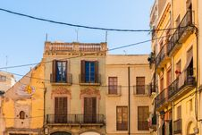 Free Picturesque View Of Old Houses In Tarragona, Catalonia Stock Photos - 35988893