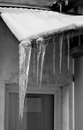 Free Icicles On The Roof Royalty Free Stock Photos - 35994288