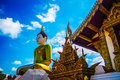 Free Montian Temple Roofs ,Roof Of Thai Temple Image And Image Of Buddha. Royalty Free Stock Photos - 35997618