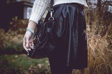 Free Beautiful Fashion Woman With Silver Jewelary On Hand Stock Image - 35990231