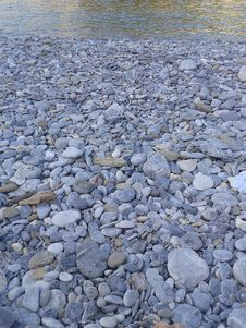 Free Pebbles Sea Shore Stock Image - 35995621