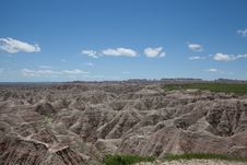 Free The Badlands Stock Photography - 35996562