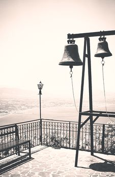 Free Church Bells, Vintage Royalty Free Stock Photography - 35997247