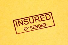 Free Insured Stamp Stock Photography - 360042