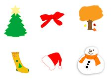 Free Seasonal Icons Stock Photo - 360060