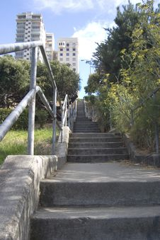 Free Long City Stairway Stock Photo - 360290