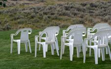 Empty Chairs 2 Royalty Free Stock Photos