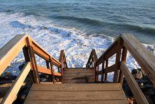 Free Steps Into The Sea Stock Photo - 361180