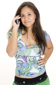 Free Making A Call 2 Royalty Free Stock Images - 361409