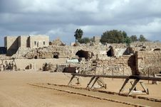 Free Ruins At Caesarea Stock Photo - 366080