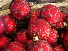 Christmas Balls Stock Image
