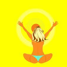 Free Sun Goddess Royalty Free Stock Photography - 367597