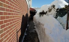 Free Brick And Snow Stock Photos - 368523