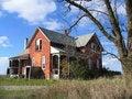 Free Abandoned Farmhouse Royalty Free Stock Photos - 3600908